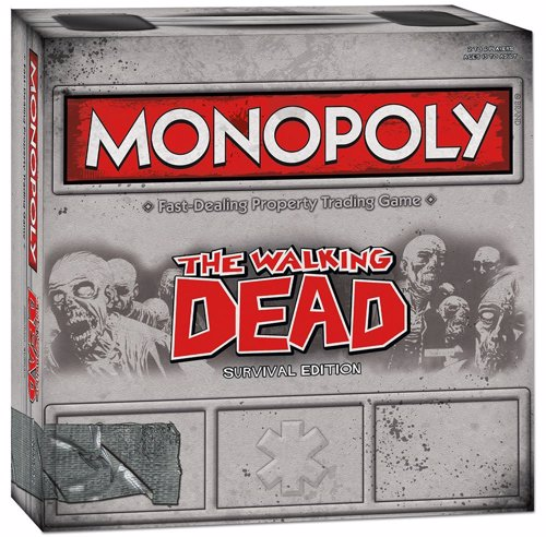 The Walking Dead Monopoly - Zombified version of the timeless board game