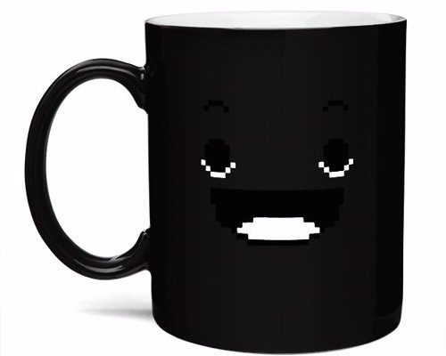 8 Bit Rise & Shine Heat Change Mug - It's not just you who needs coffee in the morning, it's your mug!