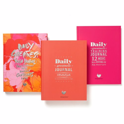 Daily Greatness Planners & Journals - Organize and achieve your daily goals with several editions covering business, fitness, yoga and personal development
