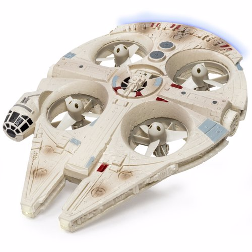 Remote Control Millennium Falcon Quadrocopter - Make the Kessel Run in less than 12 parsecs!