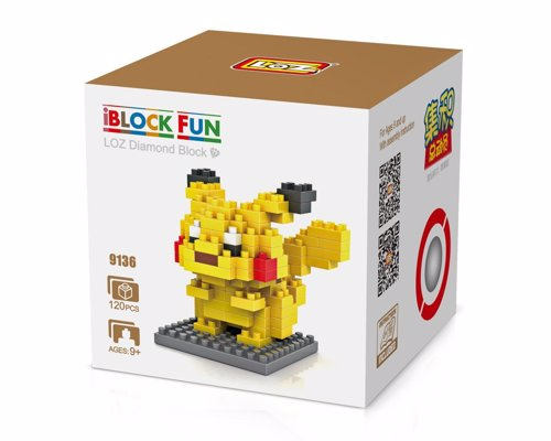 Pokémon Block Puzzles - Miniature 3D building block puzzles of all your favorite Pokémon characters