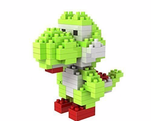 Yoshi 3D Block Puzzle - A micro-sized puzzle of the Super Mario sidekick Yoshi