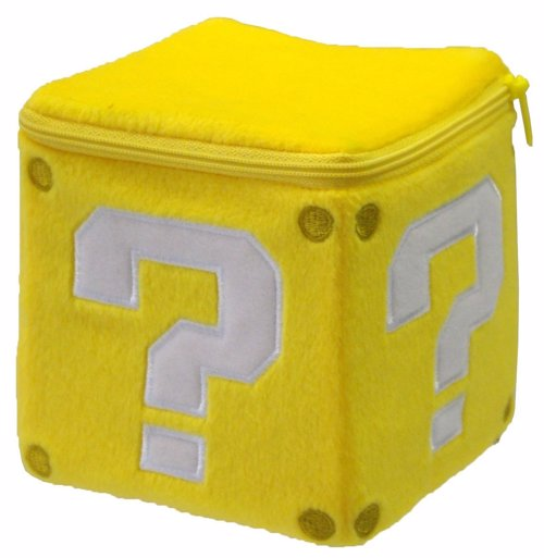 Super Mario Coin Box Plush