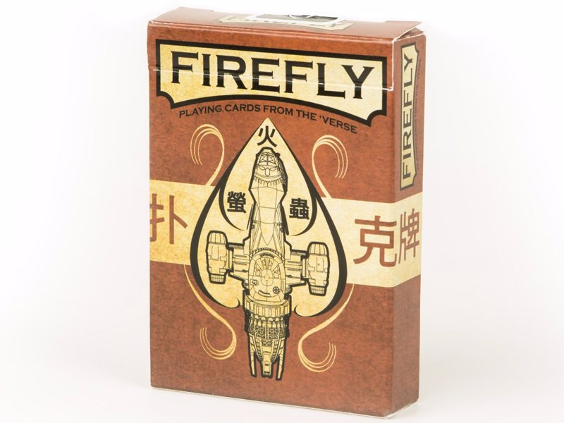 Firefly Playing Cards - Officially licensed and lovingly crafted by QMx in collaboration with artist Ben Mund