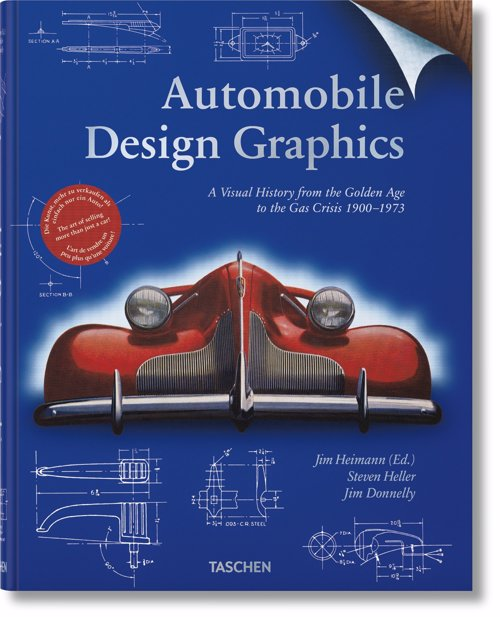 Automobile Design Graphics - Showcasing the art of the 20th century automotive brochure