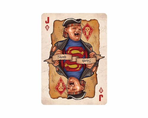 80s Cult Classic Movie Playing Cards - A range of retro decks from cult classics including Goonies, Ghostbusters, Gremlins and the Princess Bride