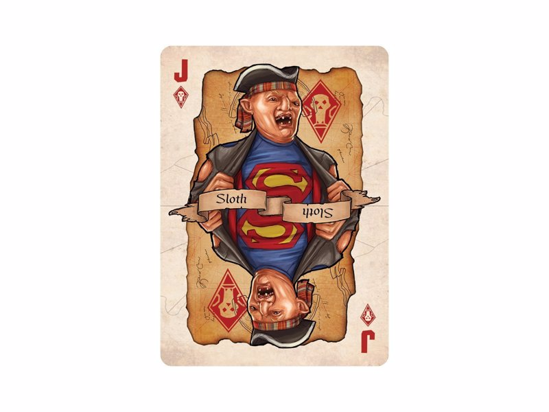 The Goonies - A range of retro decks from cult classics including Goonies, Ghostbusters, Gremlins and the Princess Bride