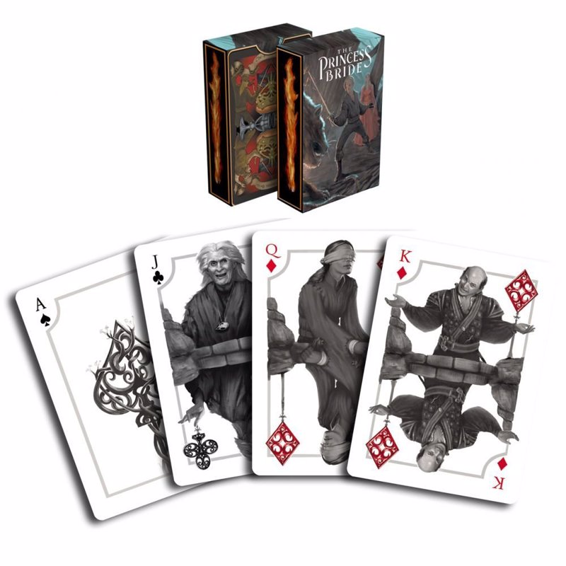 The Princess Bride - A range of retro decks from cult classics including Goonies, Ghostbusters, Gremlins and the Princess Bride