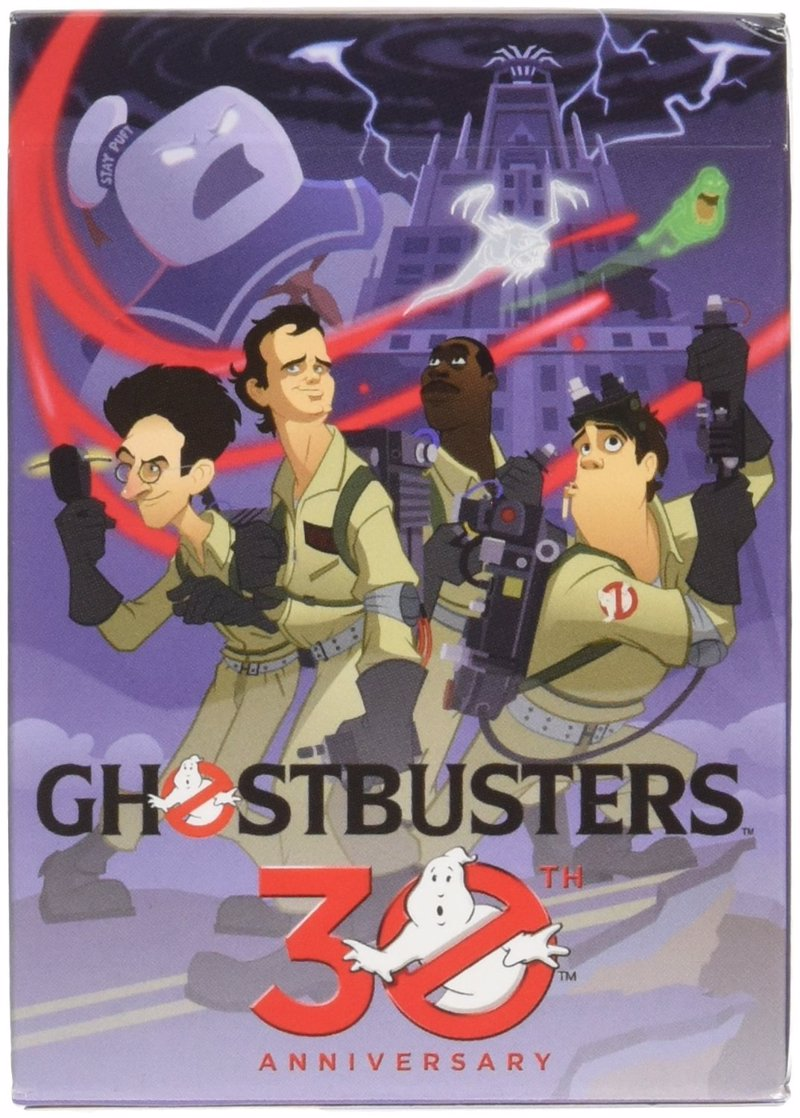 Ghostbusters - A range of retro decks from cult classics including Goonies, Ghostbusters, Gremlins and the Princess Bride