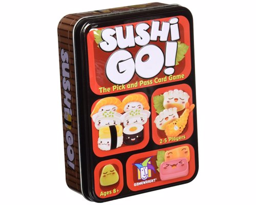 Sushi Go! Card Game - A fast and simple card passing game of sushi combos and wasabi bonuses