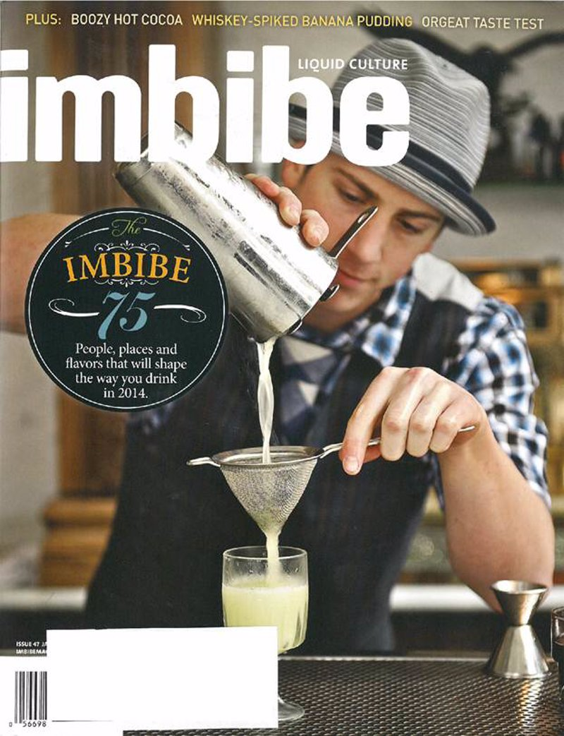 Imbibe Magazine Subscription - Your ultimate guide to liquid culture, from wine, spirits cocktails, and beer to coffee, tea and everything in between