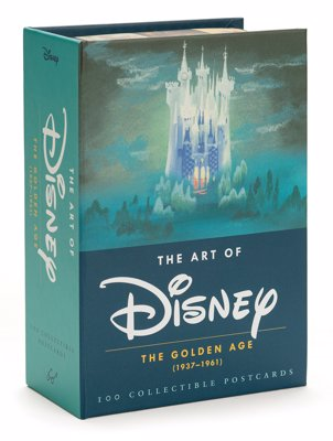 The Art of Disney: Postcards From The Golden Age - A treasure trove of concept art and frames from Disney's golden age of animation (1937-1961)