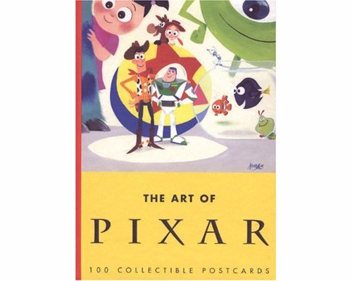 The Art of Pixar: 100 Collectible Postcards - A treasure trove of frames, sketches and concept art from Pixar movies and short films
