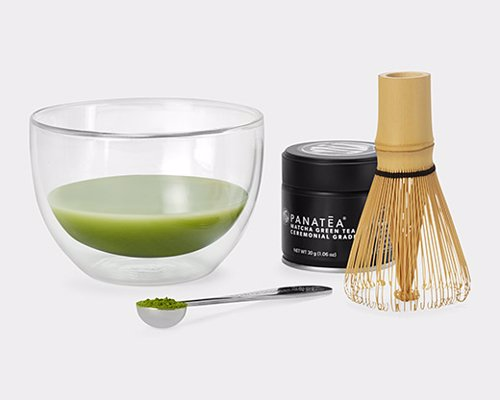 Modern Matcha Tea Set - A beautifully designed matcha tea set from MoMA