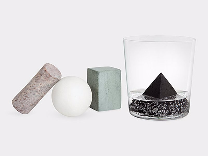 Geometric Drink Rocks - Cool down your drink without diluting it with these geometric drink rocks, for the design conscious drinker