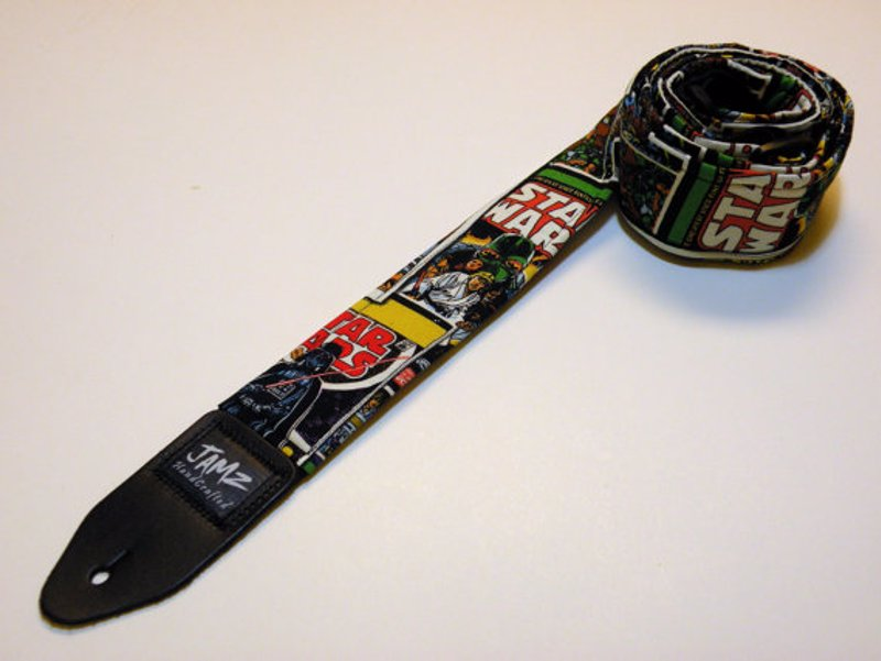 Jamz Originals Guitar Straps - Eye-catching designs for every taste including sci-fi, gaming, sports teams, animal prints, patriots and more