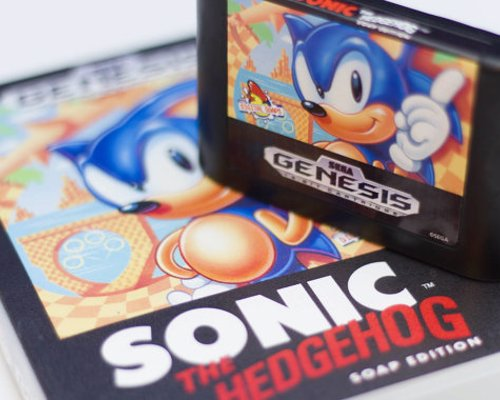 Retro Gamer Cartridge & Controller Soap - Amazingly realistic soap versions of classic console cartridges and controllers