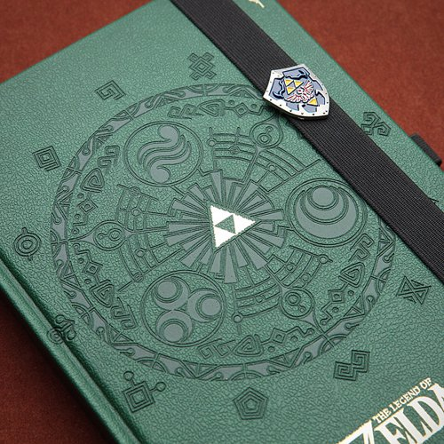 Zelda Premium Journal - A journal befitting of epic adventures