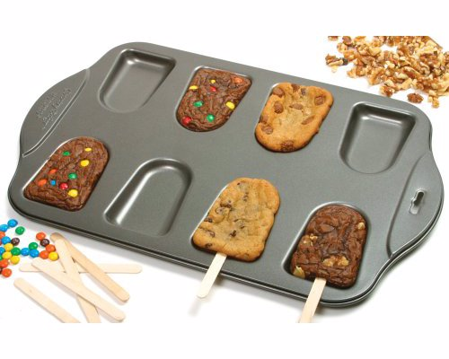 Cake-Sicle Pan - Make popsicle shaped baked goodies, great activity to make with kids