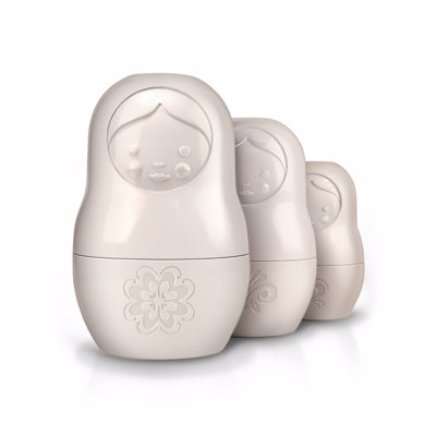 Russian Doll Measuring Cups - Cute and practical measuring cups that stack inside each other