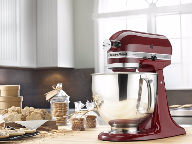 KitchenAid Artisan Series Stand Mixer - Top rated stand mixer that comes in 20 different colors to suit any kitchen or personality