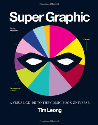 Super Graphic by Tim Leong - A visual guide to the comic book universe