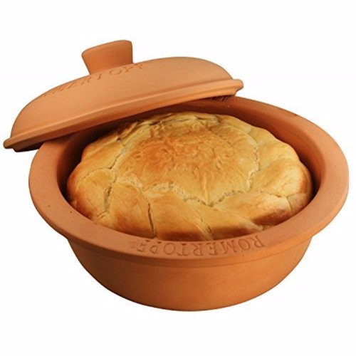 Romertopf Clay Baker - One of the best ways to bake bread at home, as well as delicious roasts and other meals