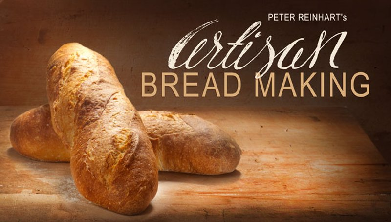Artisan Bread Making Online Classes - Bread maker extraordinaire Peter Reinhart introduces you to bread-making raising your baking skills to a new level