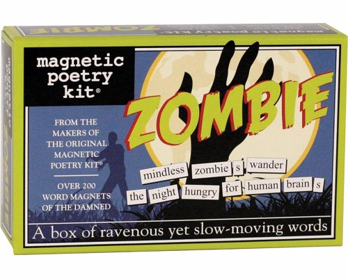 Zombie Magnetic Poetry