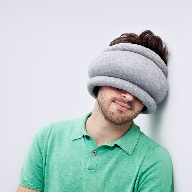 Ostrich Pillow Light - The smaller, more portable version of the sleep anywhere Ostrich Pillow