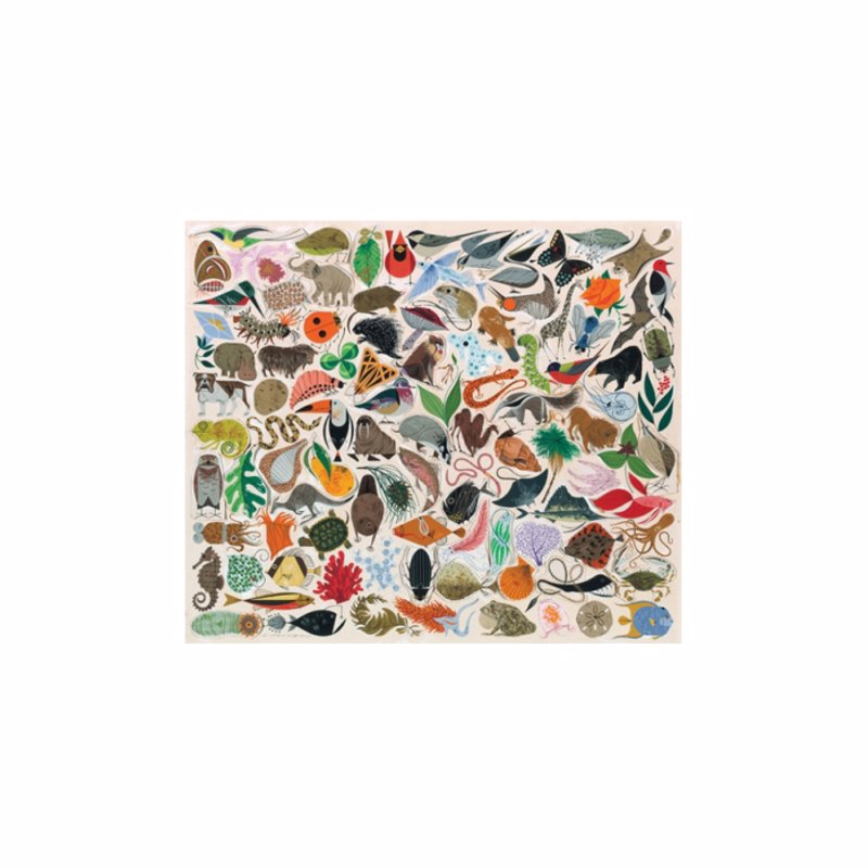 Tree of Life Jigsaw Puzzle - Beautiful jigsaw featuring artwork by Cincinnati artist Charley Harper