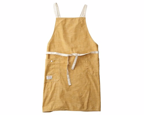 Chambray Bib Apron from BasShu