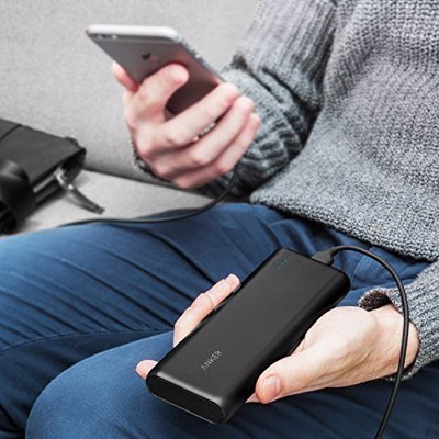 Anker Ultra High Capacity Portable Charger - The ultimate travel charger for long trips - charges an iPhone 6s a whopping 7 times