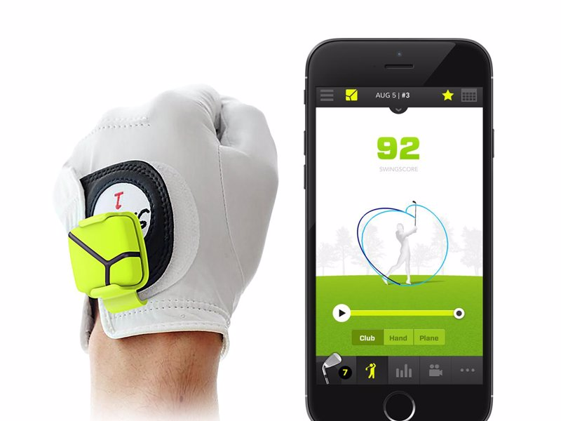 Zepp Golf 3D Swing Analyzer - Tiny sensor that attaches to your golf glove to record and analyze your swing in three dimensions