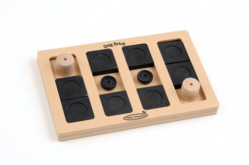 Nina Ottosson Wooden Dog Toy - A great puzzle to keep your dog entertained, providing mental and physical stimulation.