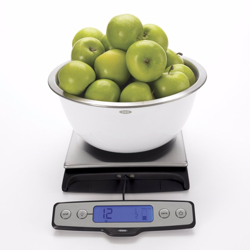 Oxo Good Grips 22 Pound Food Scale Expertly Chosen
