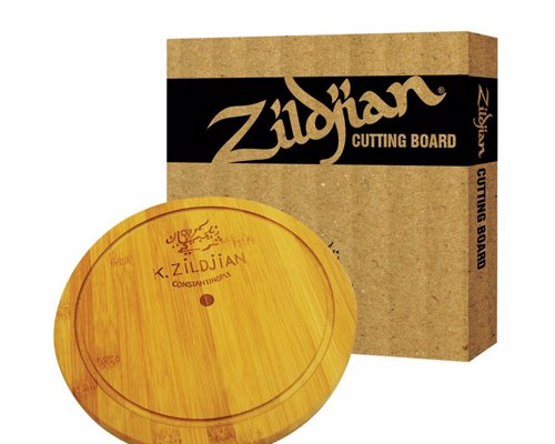 Zildjian Cymbal Cutting Board - An official kitchen chopping board made by one of the worlds leading cymbal brands