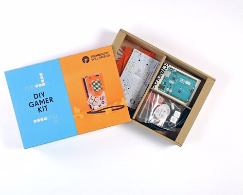 DIY Retro Game Console Kit - Build a handheld retro gaming console from scratch