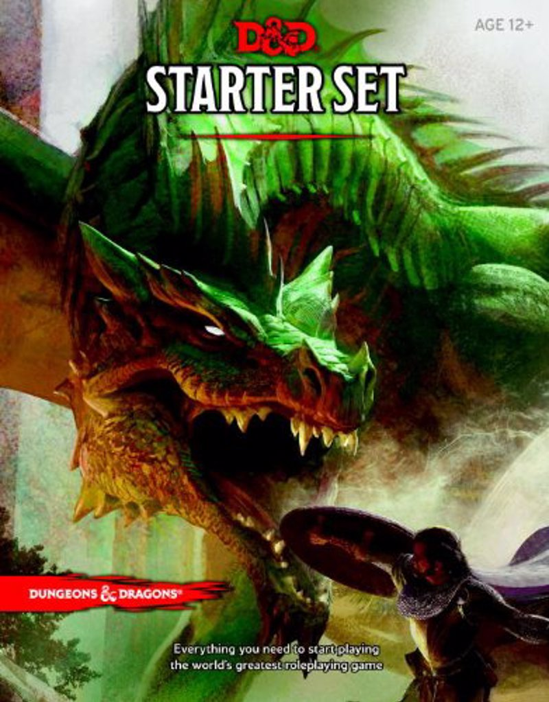 Dungeons & Dragons Starter Set - The classic fantasy roleplaying adventure game is back in style with this latest edition, designed with the aid of thousands of playtesters