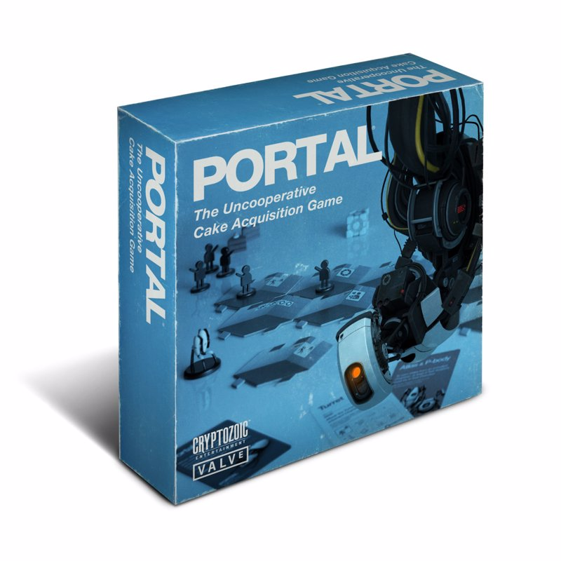 Portal: The Board Game - Help your test subjects survive the Aperture Lab in this board game based on the hugely popular Portal video game