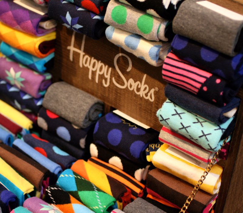 Happy Socks - Socks? If you're going to go with a classic gift, you can't go wrong with Happy Socks!
