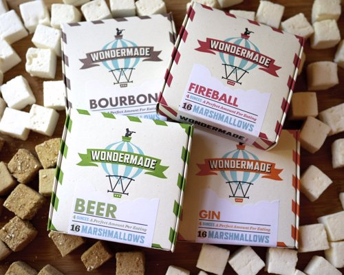 Wondermade Boozy Marshmallows