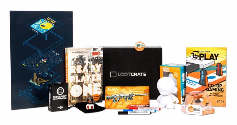 Loot Crate Geek & Gamer Box
