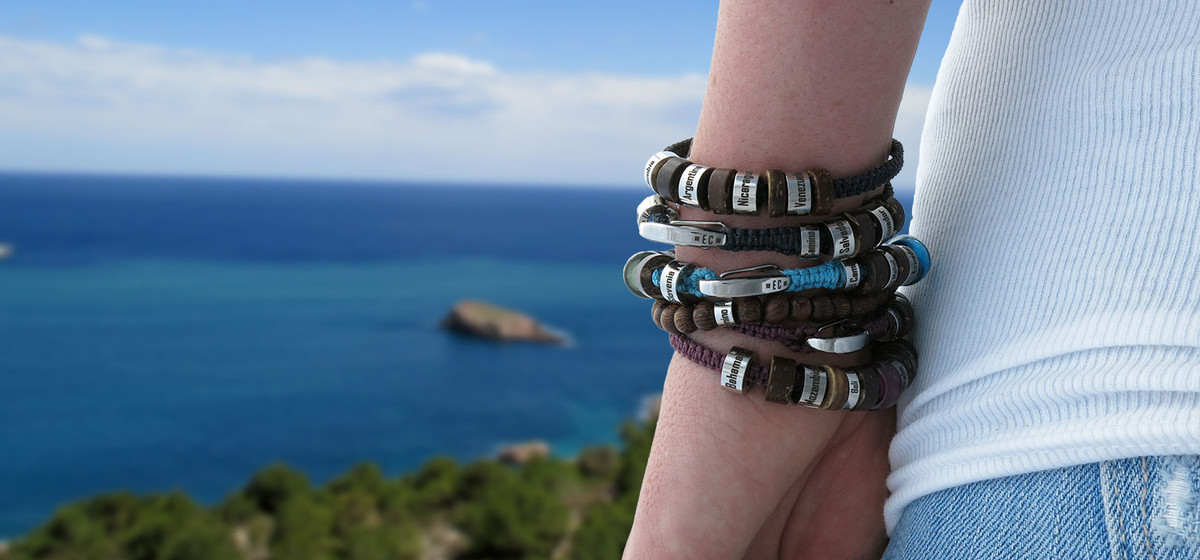 El Camino Bracelets - Highly customizable travel bracelets unique to your travel experiences