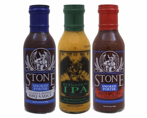 Smoked Porter BBQ Sauce Set - Like beer? Check. Like barbecue? Check. Like delicious food? Check, check, check.