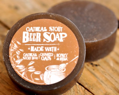 Beer Soap - Soap made from Swag Brewery's Oatmeal Stout, Vanilla Porter and more - smells amazing!