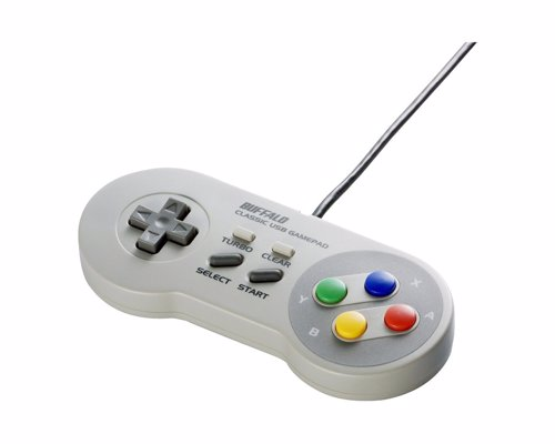 Retro Super Nintendo USB Gamepad