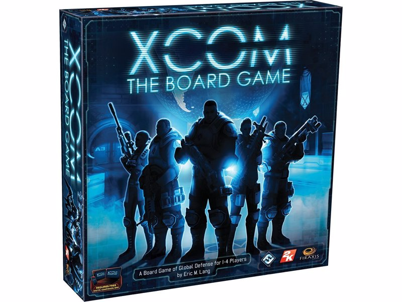 XCOM: The Board Game - Tactical board game based on the XCOM video game where you work co-operatively to defend against an alien invasion