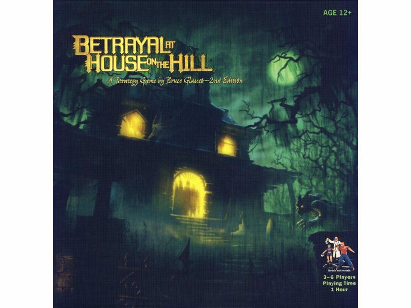 Betrayal At House On The Hill - Haunted-house horror boardgame complete with classic plot twists