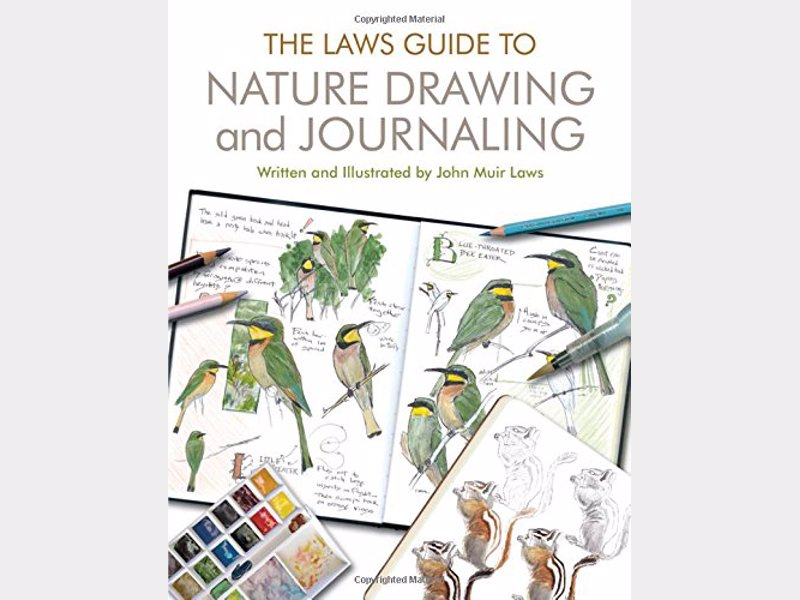 Laws Guide to Nature Drawing and Journaling - Comprehensive and beautifully illustrated guide suited to all levels of skill and experience